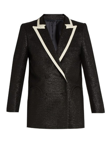 Everyday Moonfleet metallic-tweed blazer