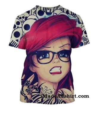 t-shirt thug life swag disney
