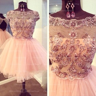 dress xv dress pink dress tulle dress tulle skirt short dress party dress
