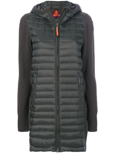 parajumpers jacket women cotton wool green