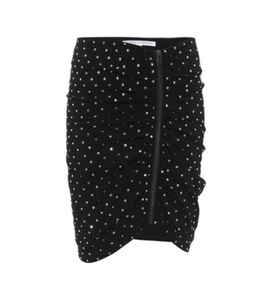 Veronica Beard skirt embellished skirt embellished black