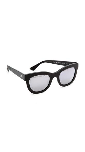 sunglasses silver black