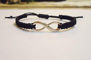 USA Made 5 Colors Infinity Handmade Macrame Bracelets   eBay