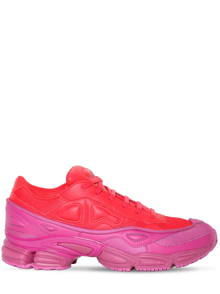 ADIDAS BY RAF SIMONS Rs Ozweego Iii Sneakers in fuchsia / red