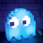 home accessory,pac-man,nightlight,cool,gamer,pacman