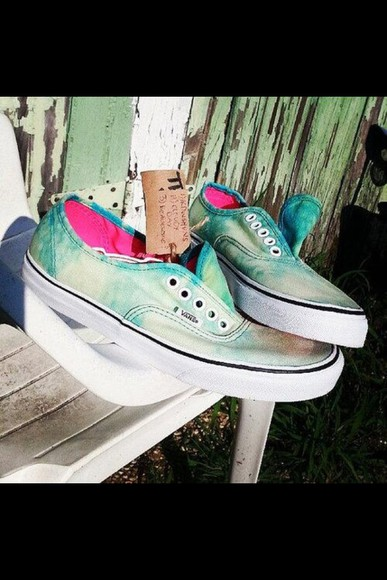 acid wash shoes vans