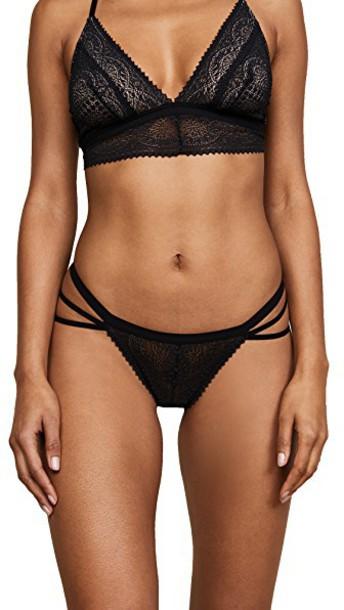 Cosabella thong black underwear