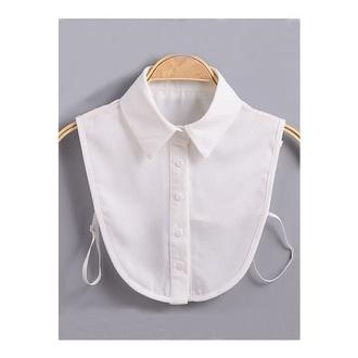 top white collar button up preppy fashion vibe