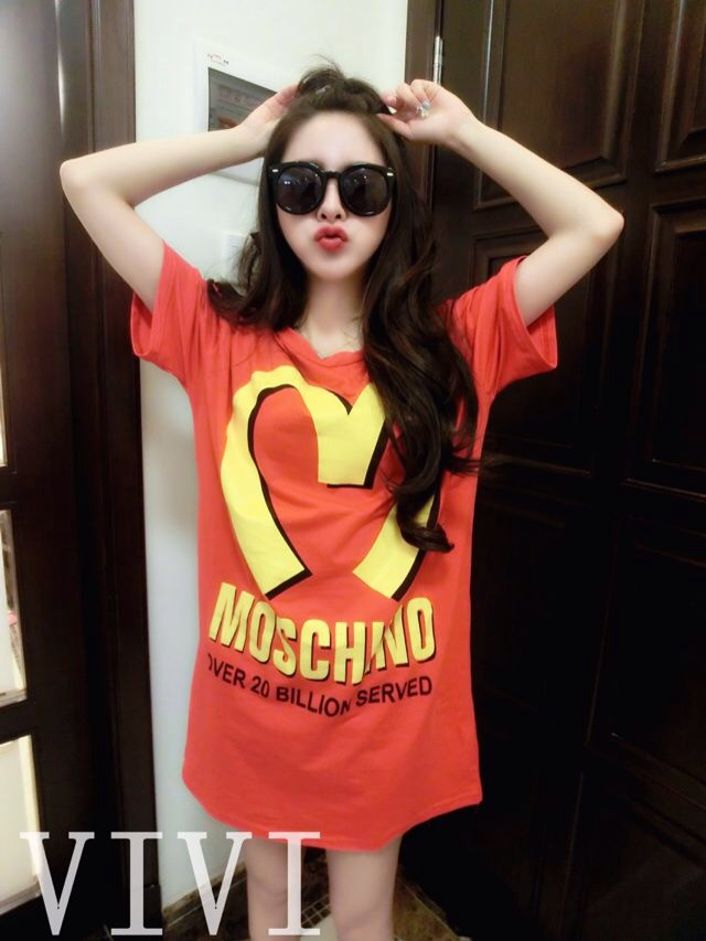 Taobao European Grand Prix 2014 summer new moschino ...