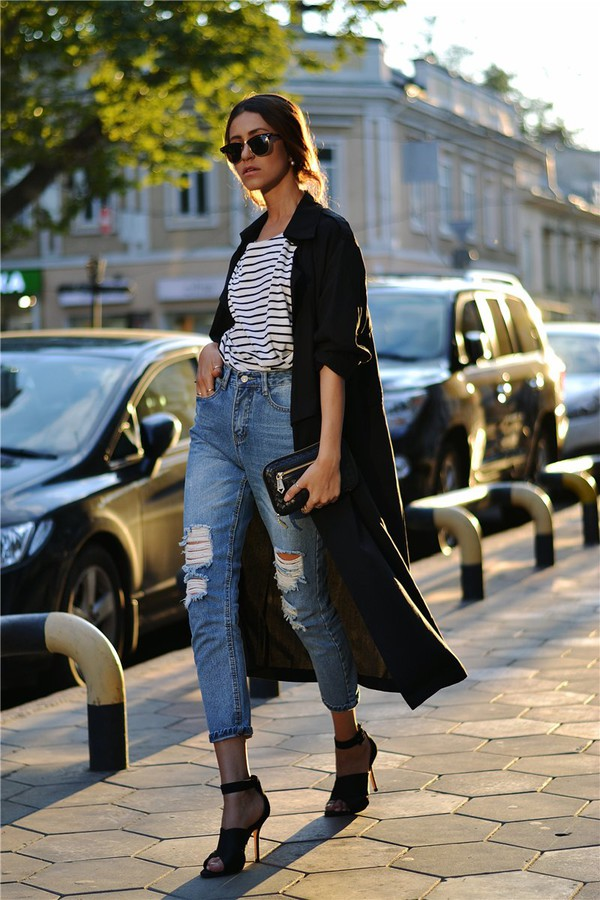 tina sizonova blogger jeans shoes