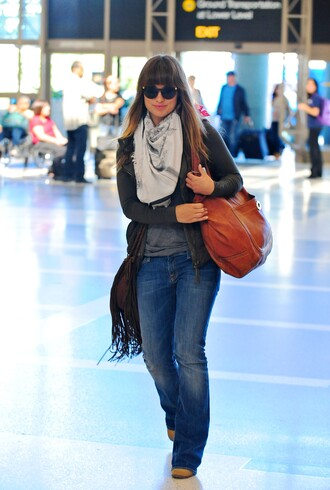 brown leather bag olivia wilde bag