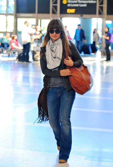 leather bag brown olivia wilde