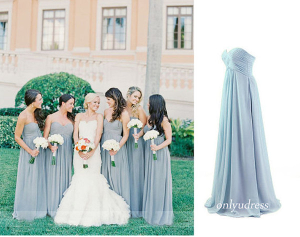 grey bridesmaid dress prom dress party dress evening dress homecoming dress women dress bridesmaid bridesmaid