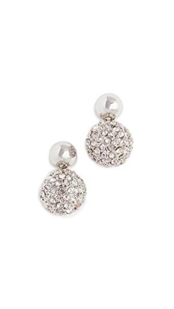 Rebecca Minkoff mini earrings silver jewels