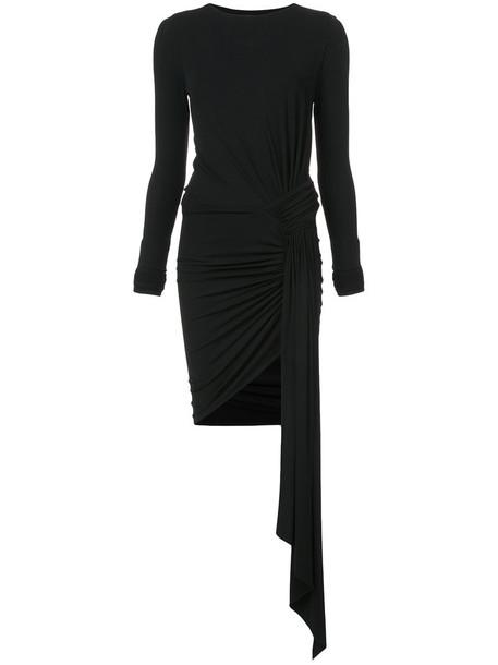 alexandre vauthier dress women spandex black