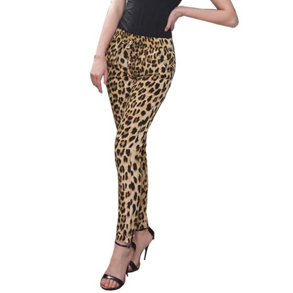 leopard print leopard print pants