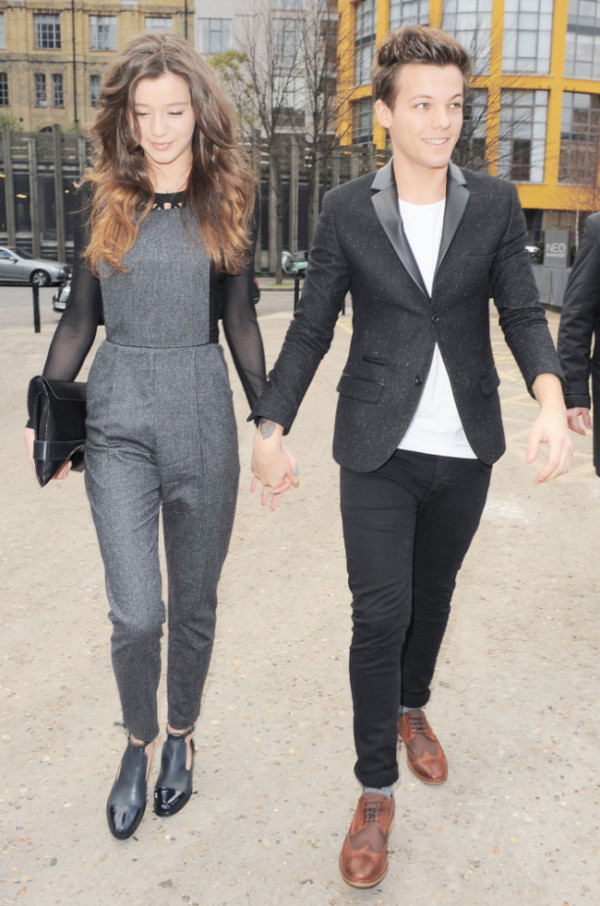 pants grey pants jumpsuit overalls pants jeans eleanor calder bag blouse shoes shirt