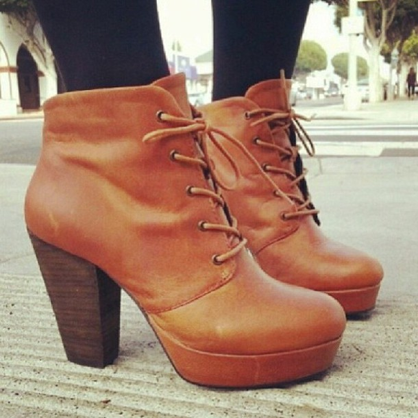 cf75a535d3fe shoes brown platform booties shoes high heels boots booties brown