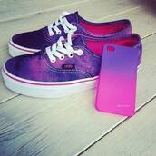 shoes,sneakers,vans,hipster,purple,white,cute,purple shoes,phone cover,pink,ombre,tie dye,iphone case,oh lord,cool,swag,sweet,lovely,jewels,violet,white lace shoes,so good,pink and purple tie dye vans,vans purple,printed vans,jolie,galaxy print,colorful,tumblr,pink and purple galaxy vans