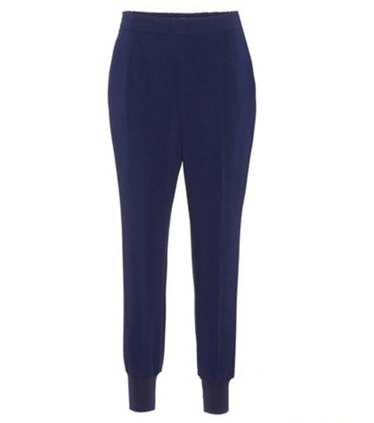 Stella McCartney blue pants