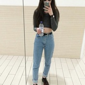 jeans,tumblr,aesthetic,mom jeans,american apparel