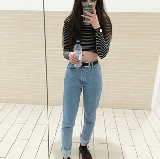 jeans tumblr aesthetic mom jeans american apparel