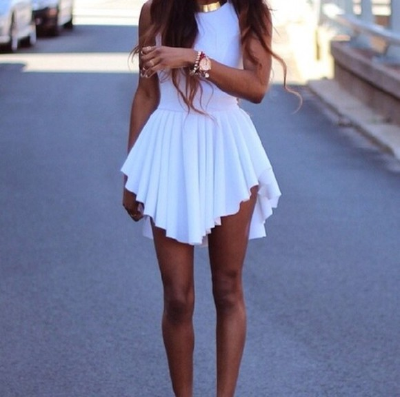 dress cute dress white dress