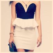 dress,forever,love,my love,sweetheart,makeup table,vanity row,dress to kill,fashion,peplum,peplum dress