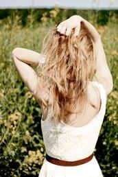 mini,dentelle,white dress,dress