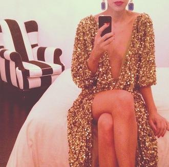 dress celebrity style sequin dress black sequins gold sequins dress gorgeous dress luxury dress