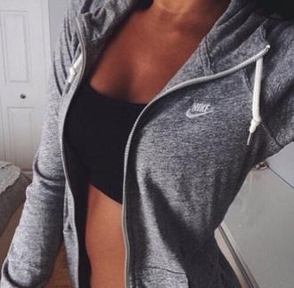 jacket nike hoodie grey nike hoddie cute