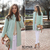 ROMWE | ROMWE Lapel Pocketed Light Green Coat, The Latest Street Fashion