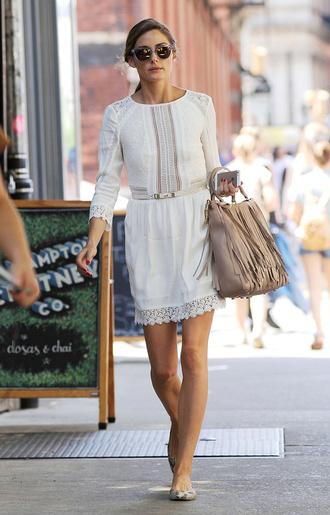 dress white dress olivia palermo