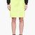 jonathan saunders acid green a_line skirt