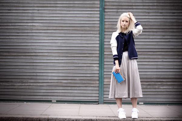 the fashion guitar jacket t-shirt skirt bag
