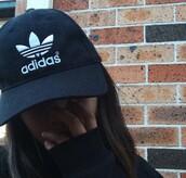 hat,black,adidas,tumblr,cap