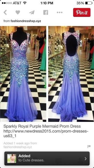 dress long sparkle