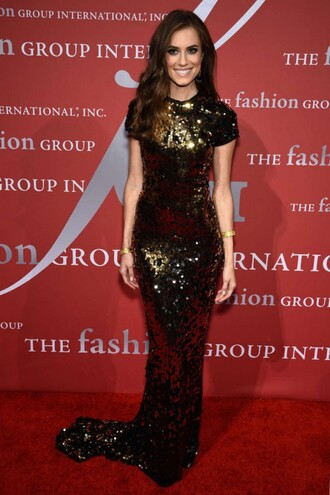 dress gown prom dress allison williams red carpet dress maxi dress sequin dress sequins
