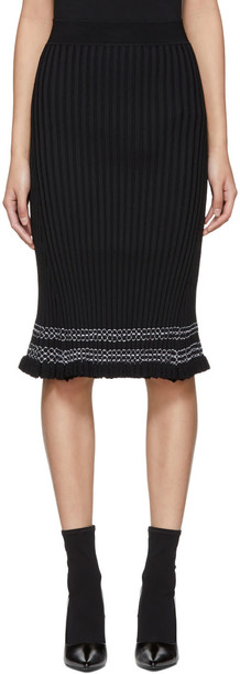 Altuzarra skirt black