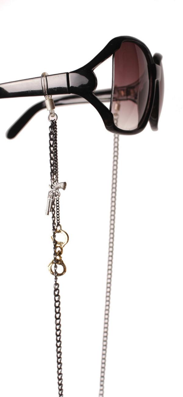 jewels eyeglass chain eyeglasses sunglasses