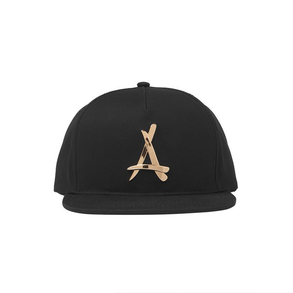 black snapback kid ink 24 carrot gold dope