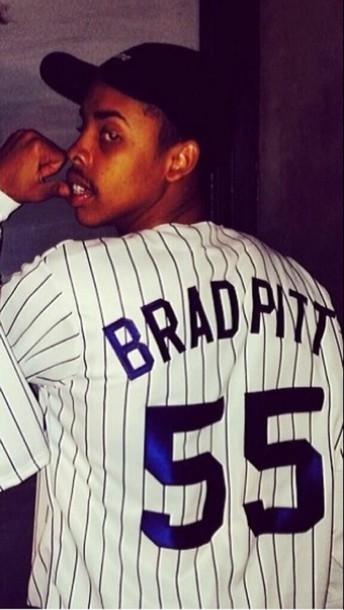 shirt dope cool baseball tee baseball jersey odd future style