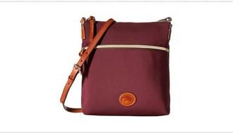 bag burgundy dooney & bourke crossbody bag cute