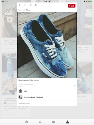 shoes vans sneakers acid wash