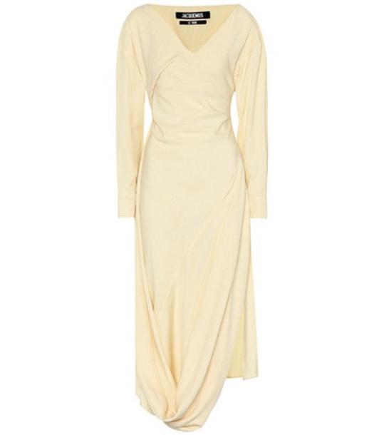 Jacquemus La Robe Madhia dress in yellow