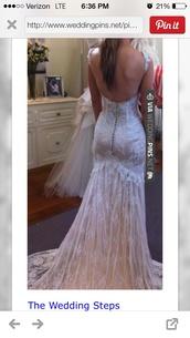 dress,wedding dress,lace wedding dress,corset wedding dress,low back,cream,off-white