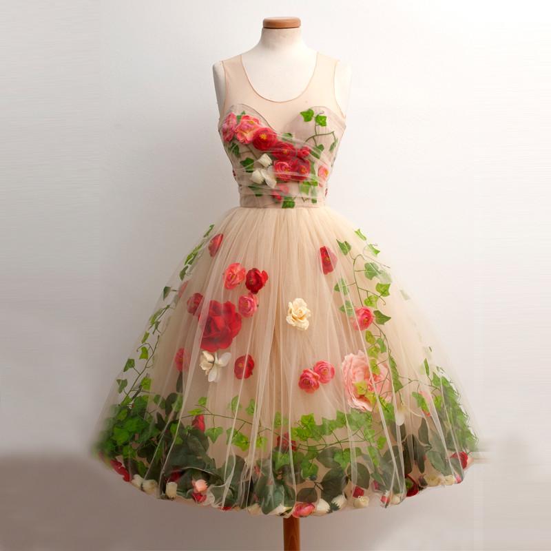 Weheartit flower dresses