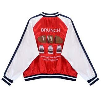 jacket baseball jacket fashion bomber jacket style red cool boogzel