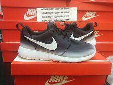 Womens Nike Roshe Run Black White Fade Gradient 599432 008 Flyknit Palm Tree NM