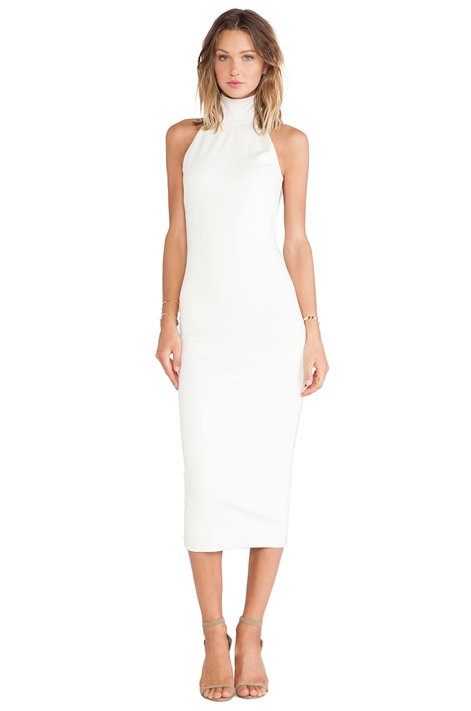 1c6a42dcb1 Torn by Ronny Kobo Thiadora Dress in Ivory from REVOLVEclothing ...